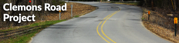 Scottsboro City Clemons road project.
