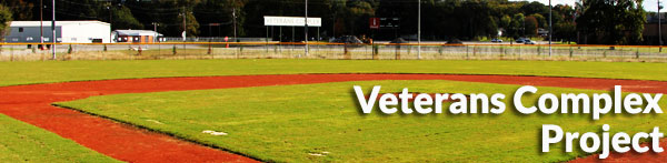 Scottsboro City Veterans field complex project.