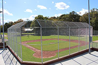 Veterans Field in Scottsboro construction finished photos.